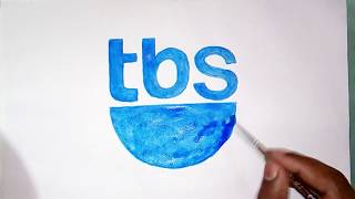 How to draw the TBS TV channel logo