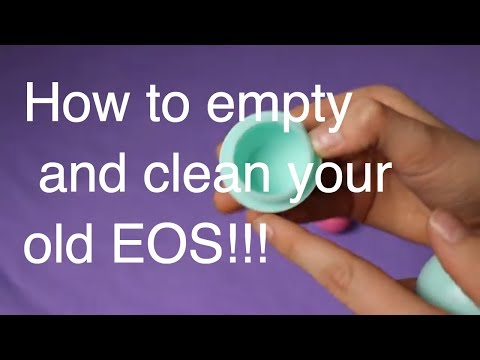 How to Clean Your EOS Lip Balm