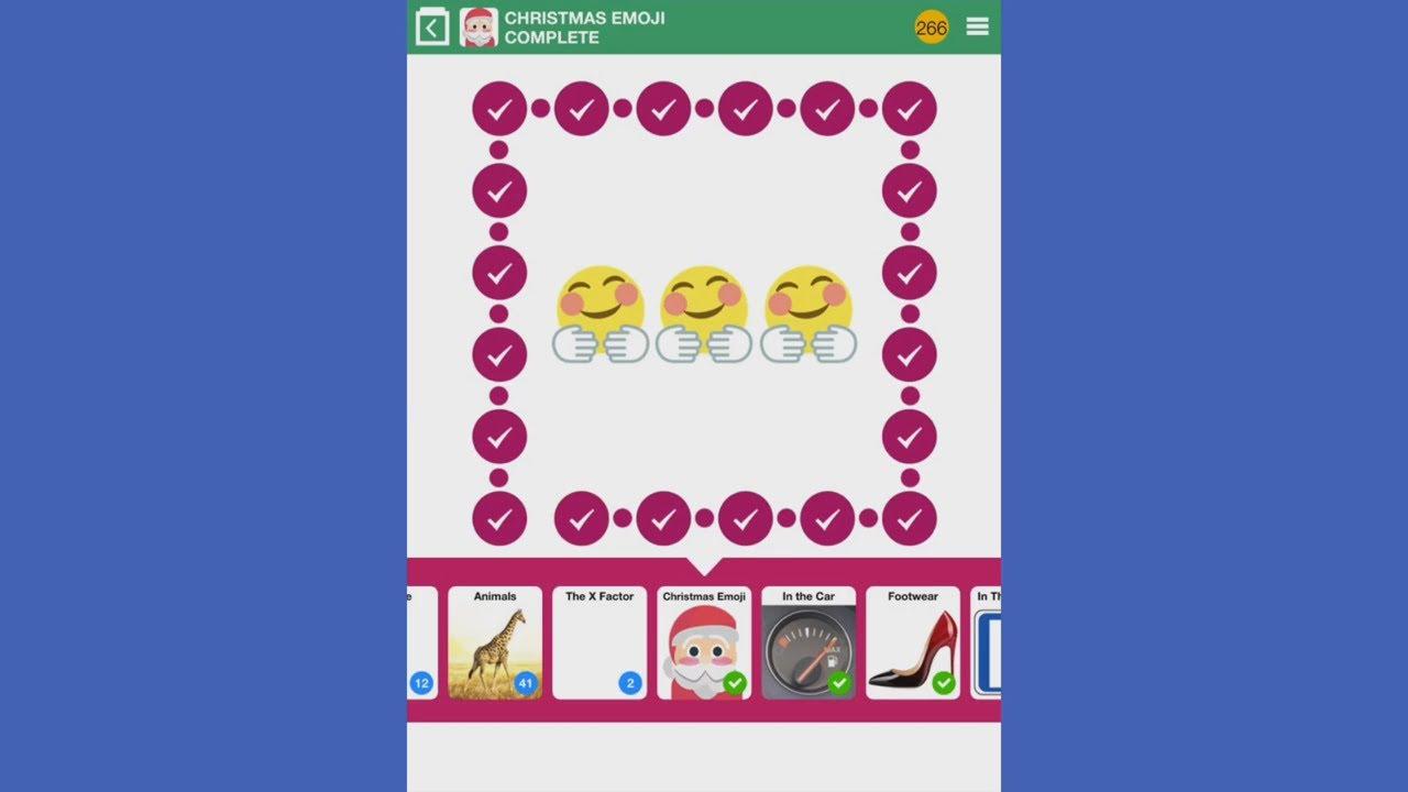 100 Pics Christmas Emoji.100 Pics Quiz Christmas Emoji 1 100 Answers