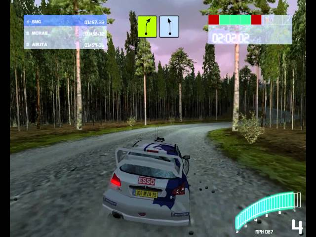Colin McRae Rally 2.0 (2001) (PC) (Gameplay and Replay)