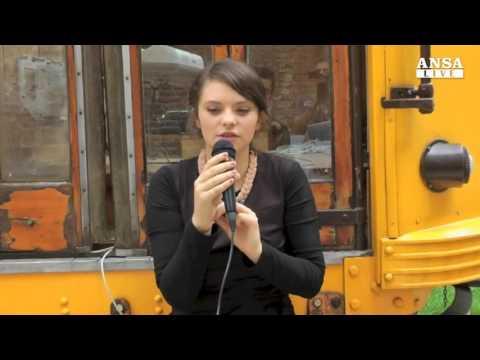 Francesca Michielin interview ANSA - 2012