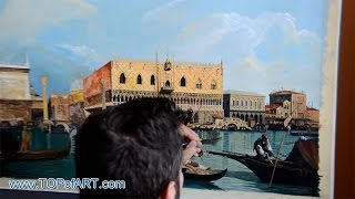 Canaletto - Piazzetta and the Doge
