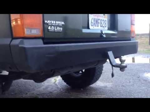 My DIY, Low Budget built bumpers for my XJ Cherokee