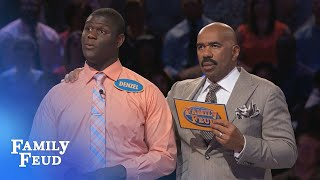 KENNY KILLS IT!!! | Family Feud