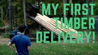 Small Timber Frame Cabin - Timber Delivery