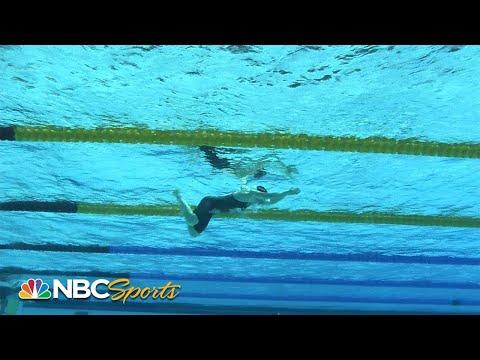 Team USA women's dominant world record medley relay – underwater camera | NBC Sports