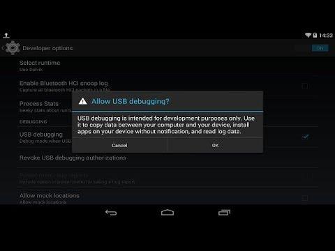 android 7 usb debugging