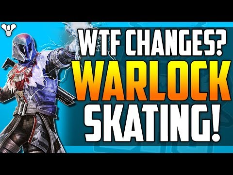 Destiny 2 BIG NEWS - WTF WARLOCK SKATING! - Massive Gameplay Changes - Go Faster Patch - All Details thumbnail
