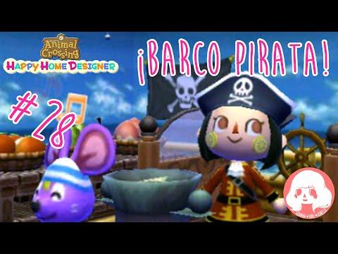 Animal Crossing Happy Home Designer - #28 - ¡Barco pirata!