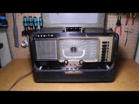 The Zenith H500 Super Trans-Oceanic Portable Radio