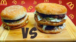 McDonald's VS ДОМАШНЯЯ КУХНЯ/ЧТО ВКУСНЕЕ И ДЕШЕВЛЕ?/СРАВНЕНИЕ БИГ МАК