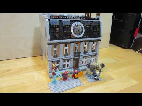 Sanctum Sanctorum Showdown 76108 modified Also ATM Heist Battle 76082 Lego  April 23, 2018