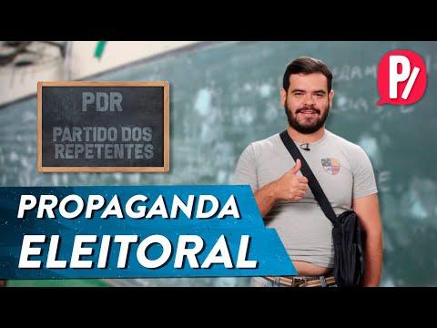 PROPAGANDA ELEITORAL | PARAFERNALHA