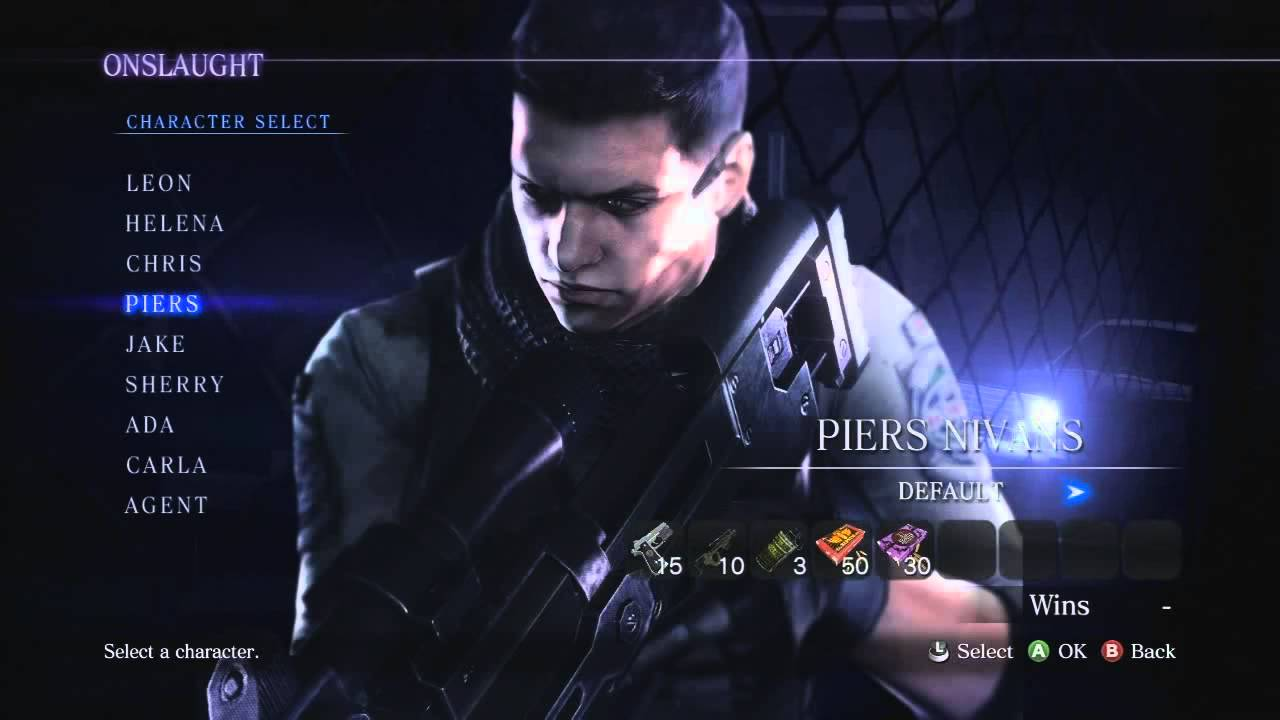 Resident Evil 6 Dlc Modes Weapon Loadouts Youtube
