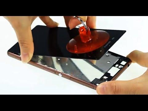 Замена дисплея Sony Xperia Z3 D6603 (часть 1)