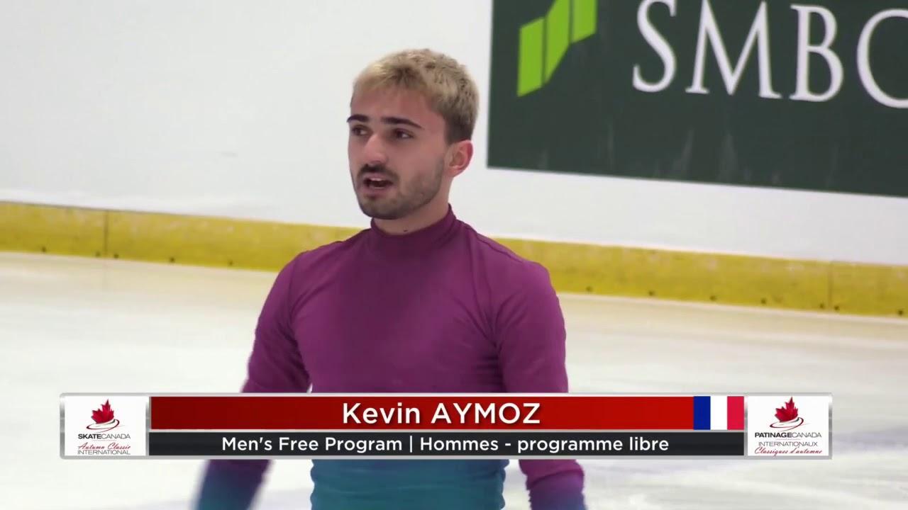 Kevin AYMOZ FRA Free Skate 2019 Autumn Classic International - YouTube