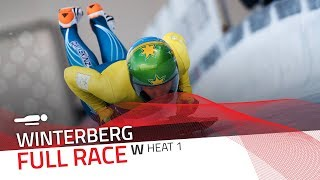 Winterberg | BMW IBSF World Cup 2018/2019 - Women's Skeleton Heat 1 | IBSF Official