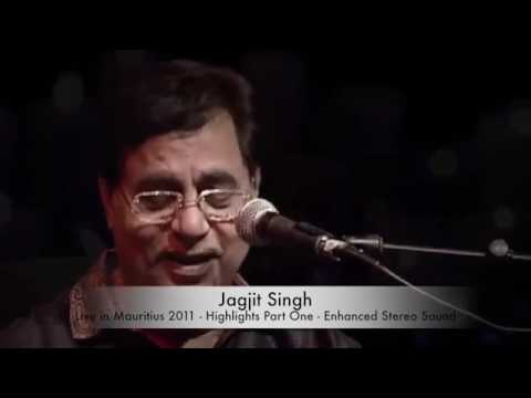 Jagjit Singh Live Highlights Of Mauritius Full HD Stereo Sound Part 1