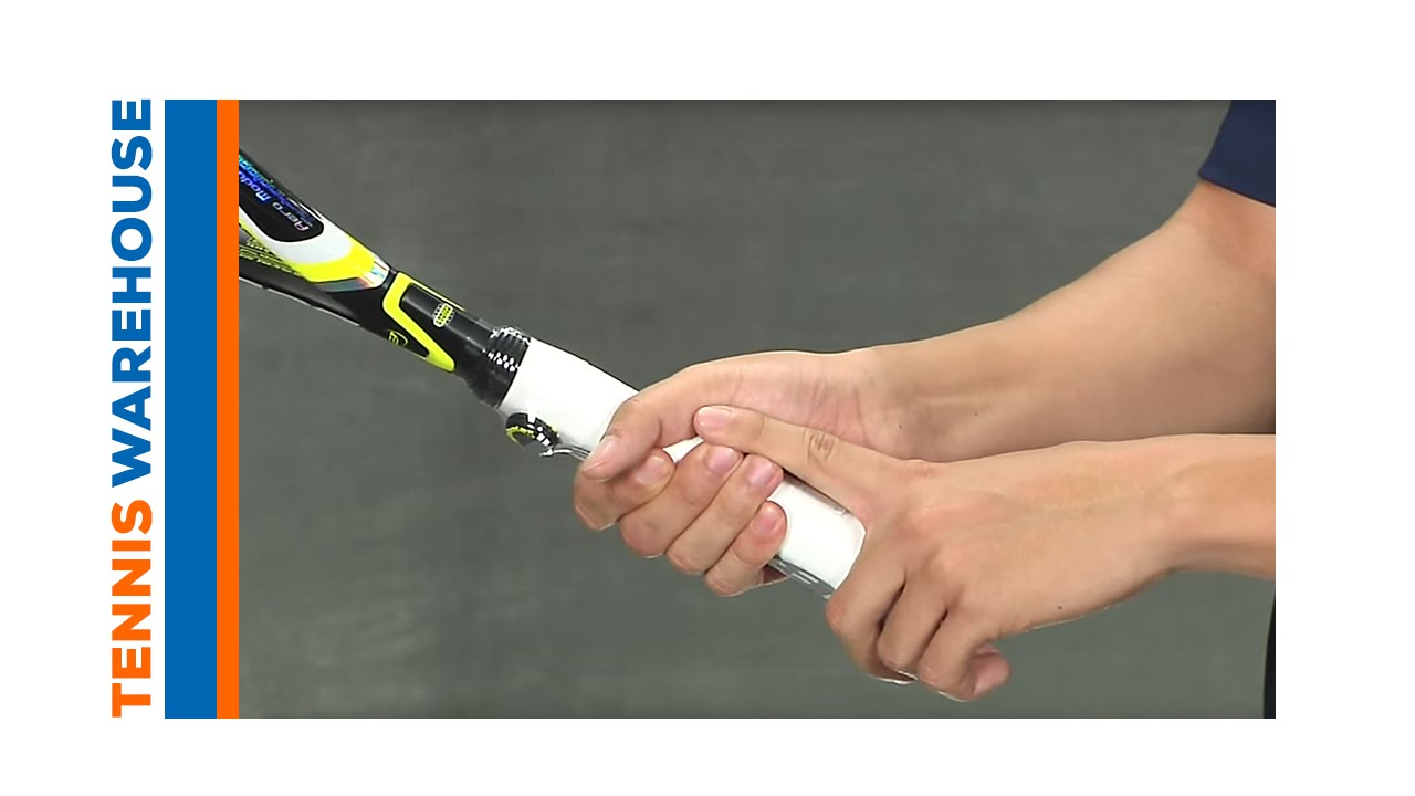 How To Measure Your Tennis Grip Size