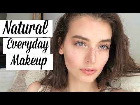 Natural Everyday Makeup Spring Tutorial