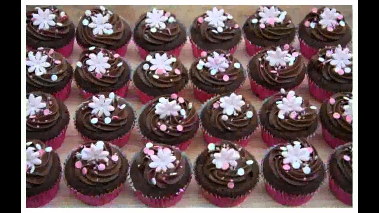 Chocolate Cupcake Decor Ideas : [roberiacav] Chocolate Cupcake Decorations - YouTube