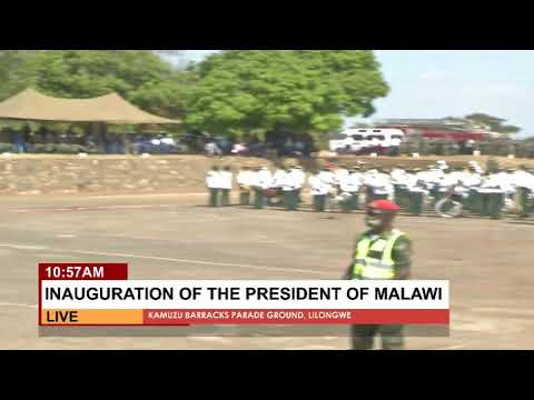 INAUGURATION OF THE PRESIDENT OF MALAWI