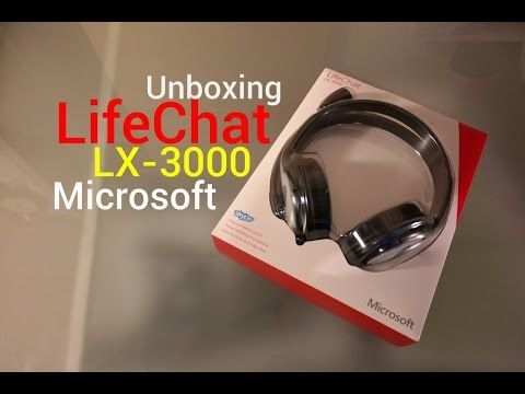 Auriculares LifeChat Lx-3000 Microsoft | Unboxing