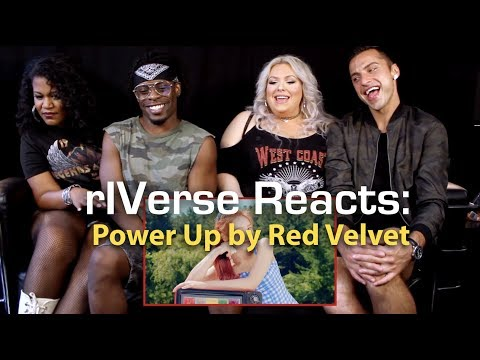 rIVerse Reacts: Power Up by Red Velvet - MV Reaction