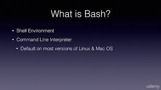 Unleashing the Mac OS X Terminal for Absolute Beginners : The Command Line and Bash Shell