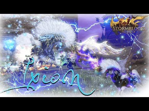 FFXIV Stormblood: Ixion Fate Guide & Rewards - YouTube
