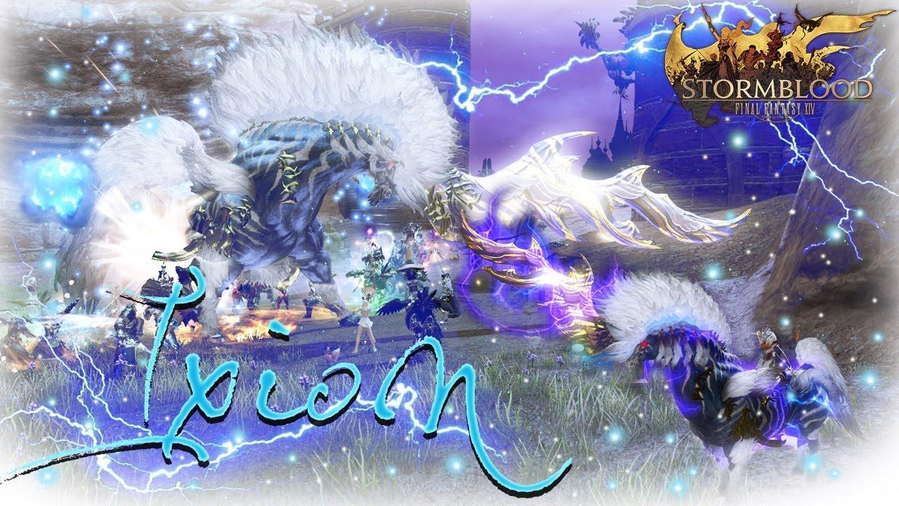 FFXIV Stormblood: Ixion Fate Guide & Rewards