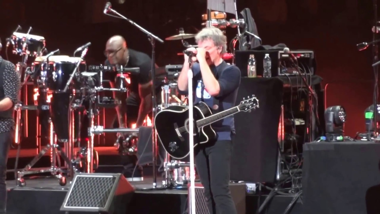 Bon Jovi Wanted Dead Or Alive 4 13 17 Madison Square Garden Youtube