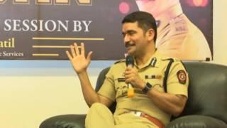 IPS Vishwas Nangre Patil  ( Hindi ) Interview by Tikam Shekhawat at Zeal College Pune