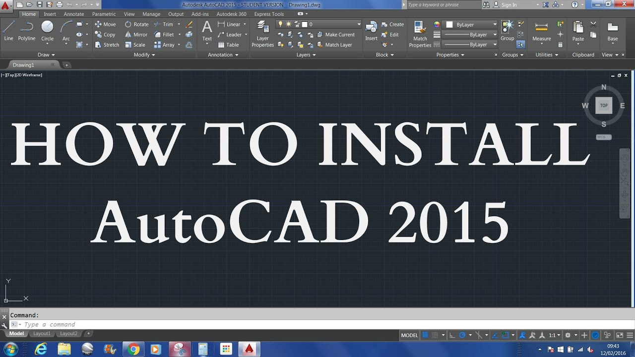 autocad 2015 download 64 bit free