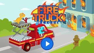 Fire Truck Rescue - FireTruck & Fire fighter Simulator Games for kids