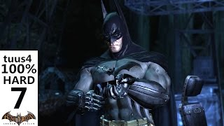 Batman: Arkham Asylum Walkthrough (Hard 100%) Part 7 - The Batcave