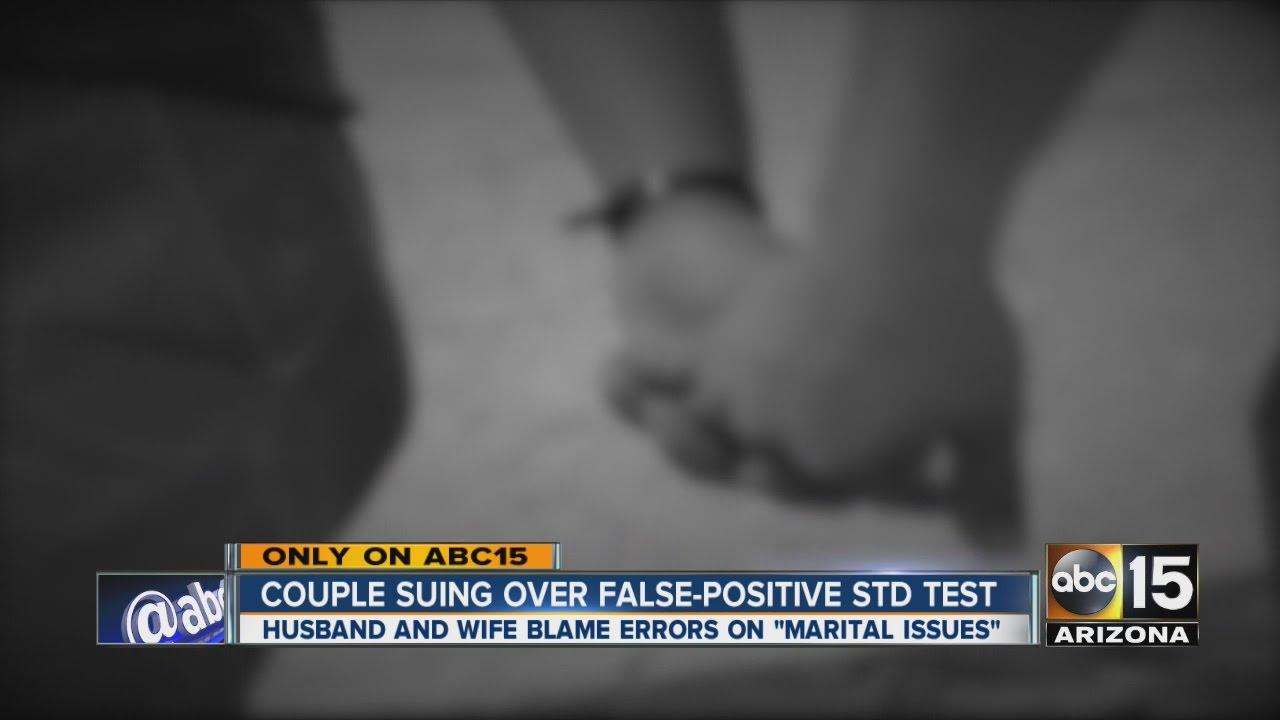 Couple suing over false-positive STD test