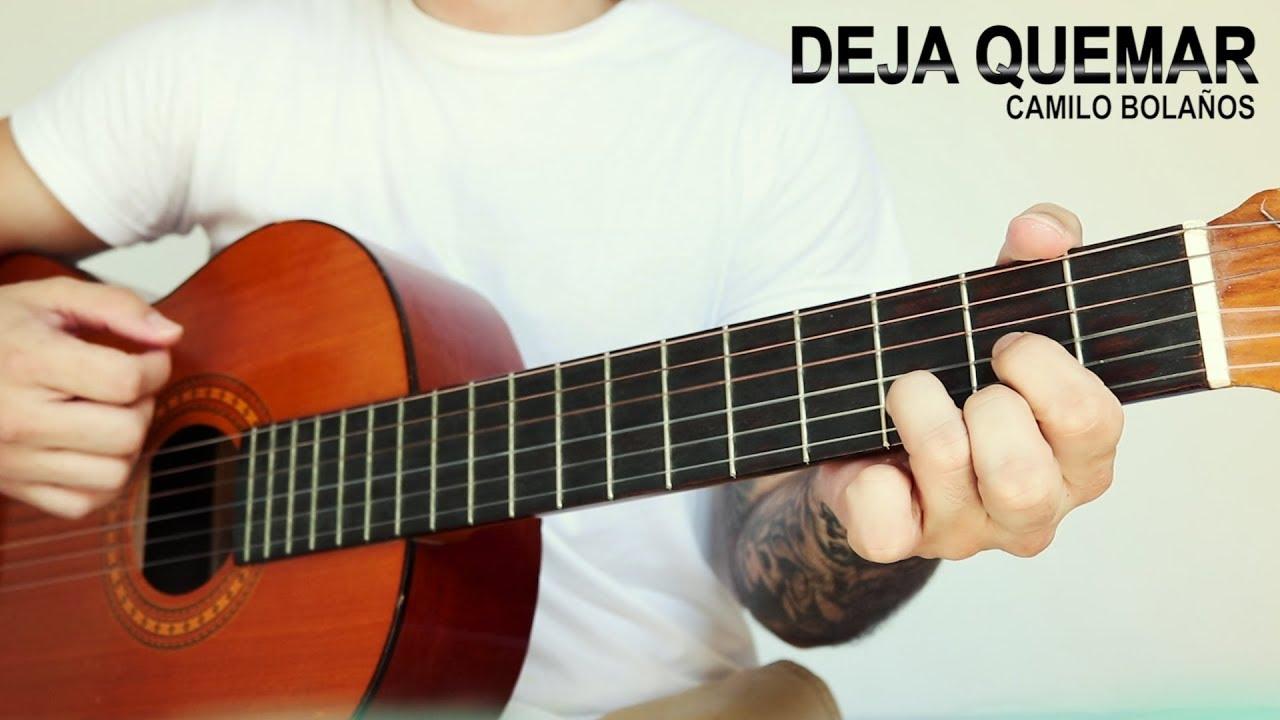 Deja Quemar/Deixa Queimar - Alessandro Vilas Boas - Cover con acordes