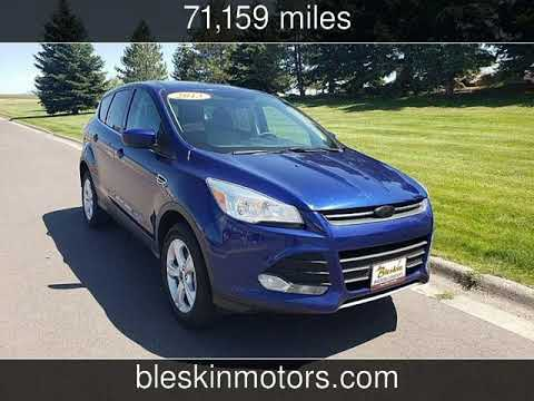 2013 Ford Escape SE city MT Bleskin Motor Company