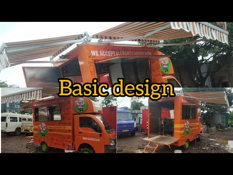 Basic design, Simple bite  food truck Pune