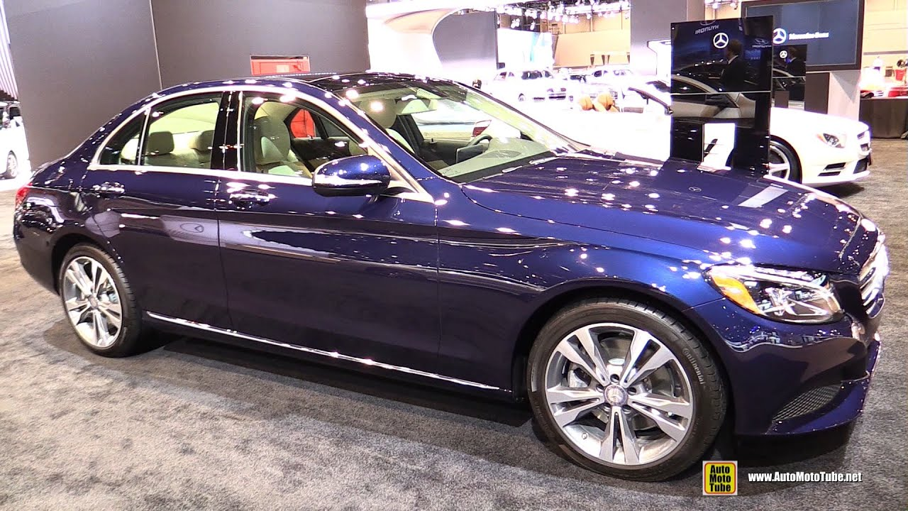 2015 mercedes benz c class c300 4matic exterior and interior walkaround 2015 chicago auto. Black Bedroom Furniture Sets. Home Design Ideas
