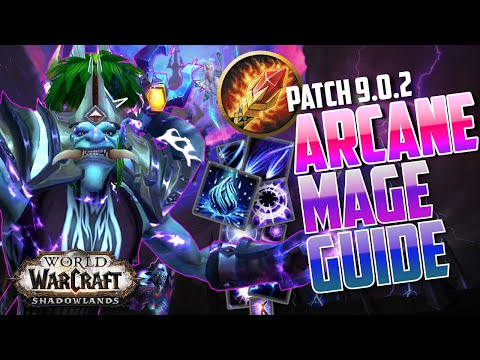 ARCANE MAGE GUIDE 9.0 | Best rotation, covenants, legendaries, and talents in Shadowlands