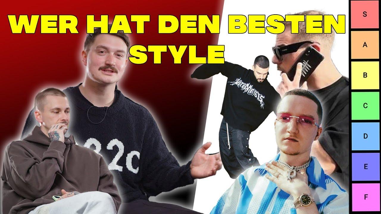 Fashion-Youtube Tierlist: wer hat den besten Style? 🤔 (LG Robert Friedrichs 👋🏻)