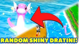 SHINY DRATINI REACTION! AMAZING SHINY POKEMON! - Pokémon: Let's Go, Pikachu! and Let's Go, Eevee!