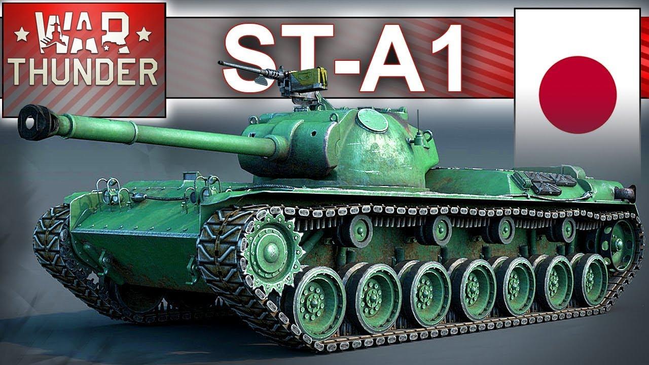 ST-A1 – Japonia atakuje – BITWA realistyczna – War Thunder
