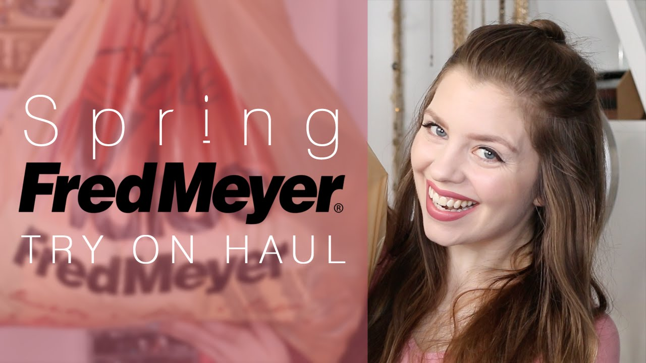 Fred Meyer Spring Beauty Clothing Try On Haul Hello Rigby Youtube