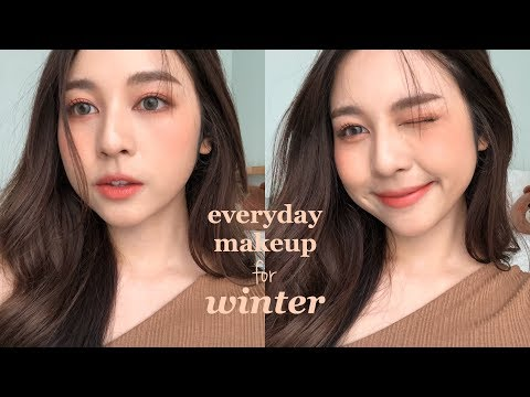 ☃️EVERYDAY MAKEUP for WINTER แต่งหน้าละมุนๆช่วงหน้าหนาว! ❄️| Babyjingko thumbnail