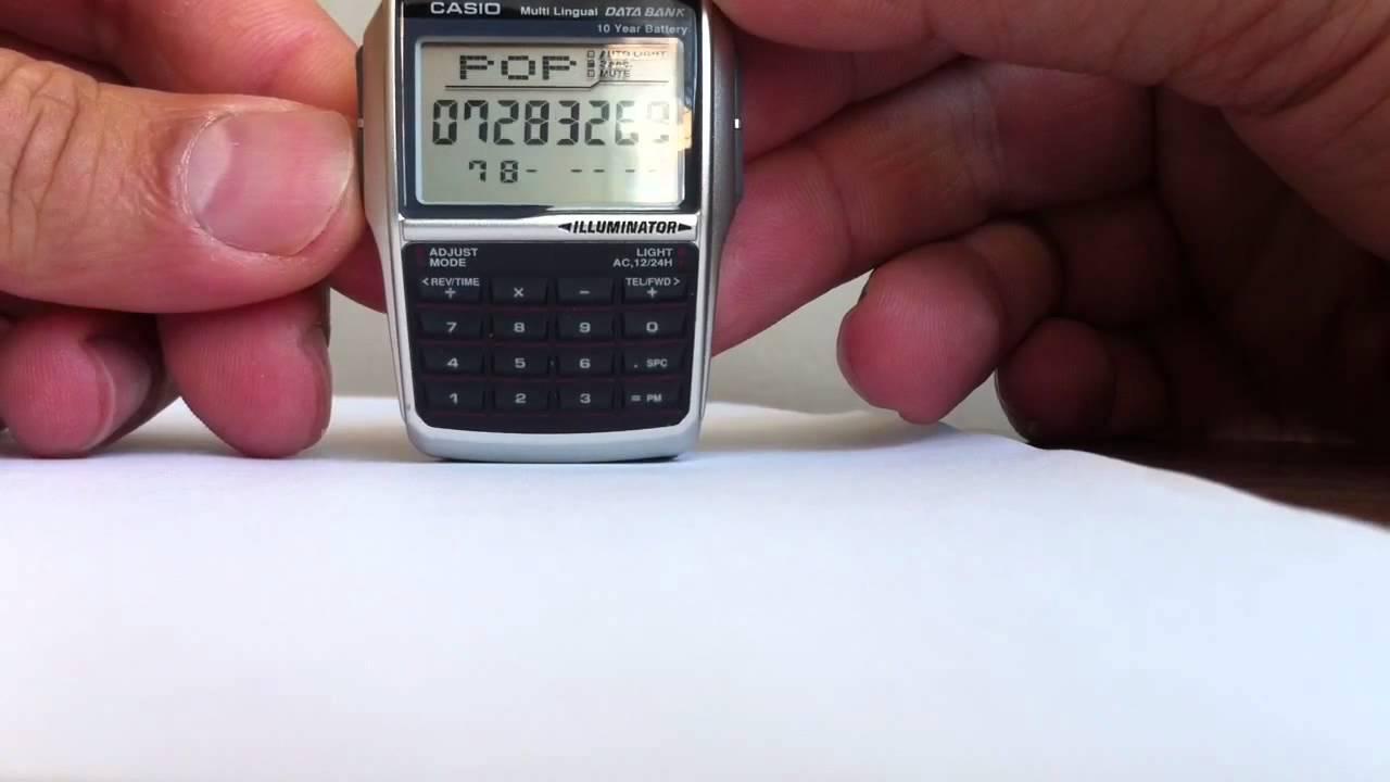 cda435bea1e Casio DBC 32D 1A