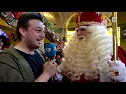 Huis van Sinterklaas geopend in De Waag