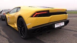 800HP Lamborghini Huracán K8-Strasse Stage 3 - REVS & DRAG RACING! thumbnail